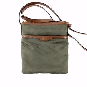 Ralph Lauren Olive Green Crossbody Bag Purse